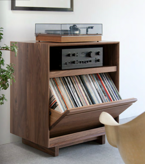Lp storage cabinet 101 audiophile modern and storage - Meuble chaine hifi ikea ...