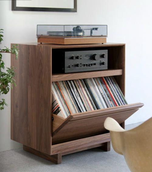 Lp Storage Cabinet 101 Meuble Hifi Meuble Vinyle Meuble Pour Platine Vinyle Et Meuble Audio