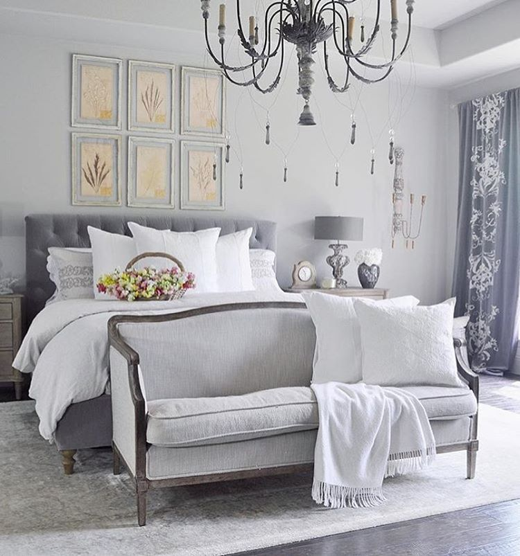 Gray Bedroom By Decorgold Complete