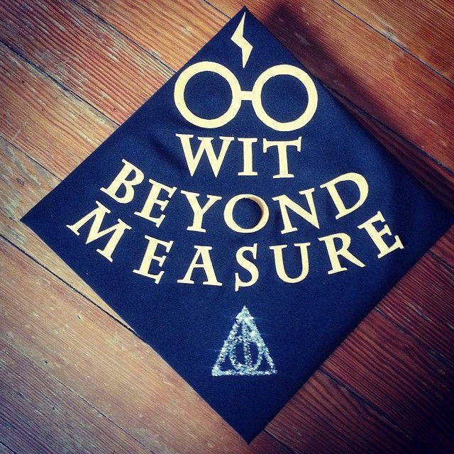 40 DIY Graduation Cap Ideas For Major Harry Potter Fans