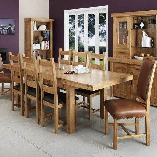 Is Oak Affecting You're The Way You Decorate Your Dining Room Brilliant Oak Dining Room Furniture Design Decoration