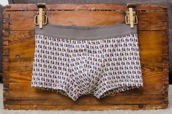 "Photo of Free sewing pattern: men's underpants ""LeRetro"" 