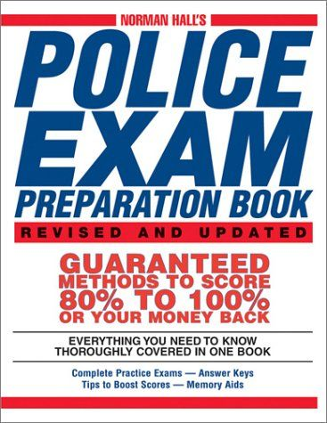 Bestseller Books Online Norman Halls Police Exam Preparation Book
