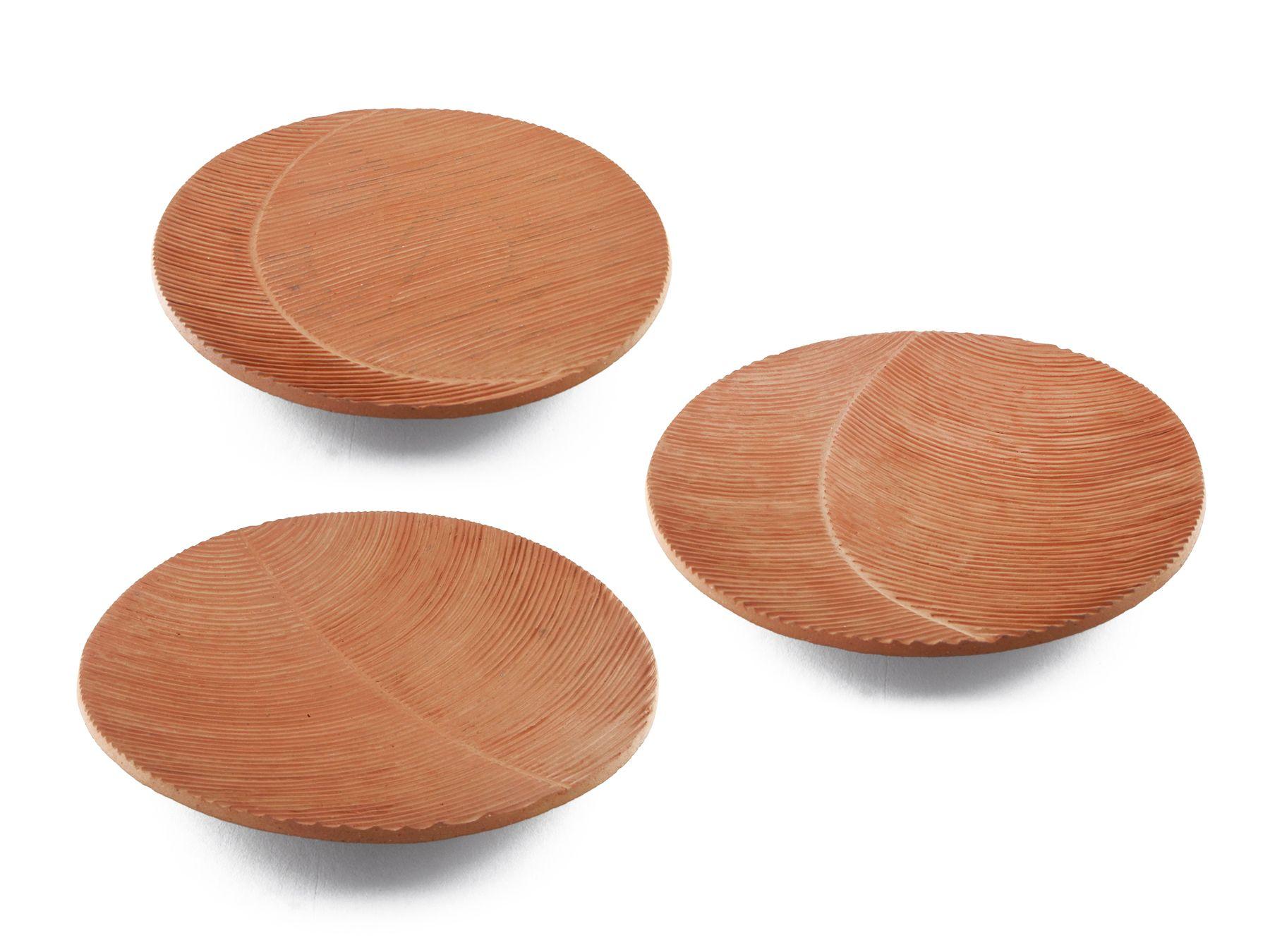 """Fruteiras """"Arais"""" de cerâmica terracota, de Hary"""
