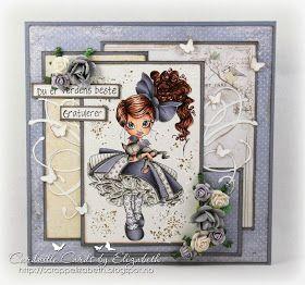Cardville- Elizabeths Kreative sider: DT Copic Marker Norge: Happy Birthday