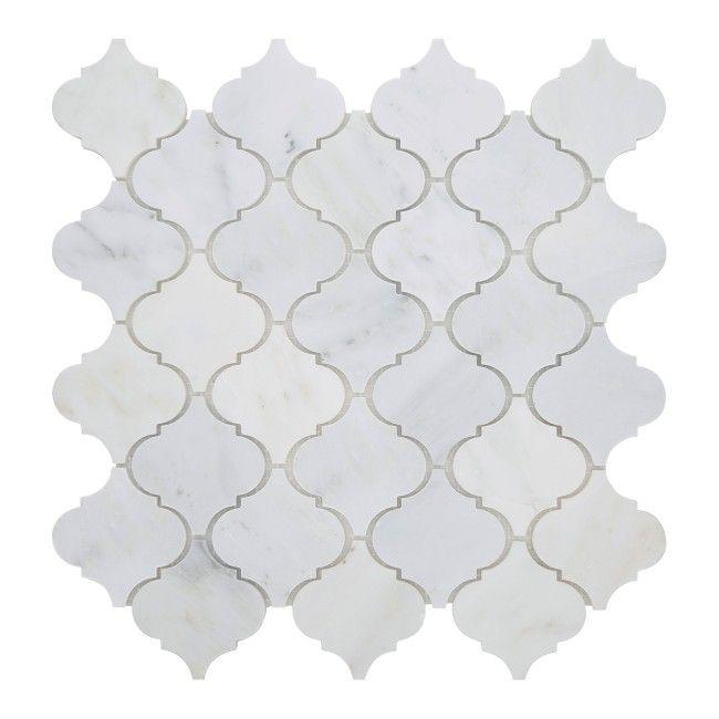 Mozaika Colours Orient 30 5 X 30 8 Cm Biala Plytki Scienne Plytki Scienne Podlogowe I Elewacyjne Arabesque Tile Backsplash Arabesque White Marble Mosaic