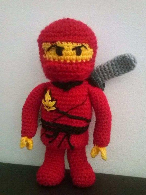 Ninja Häkeln Amigurumi Ninja Figur Häkeln Ninjago Pinterest