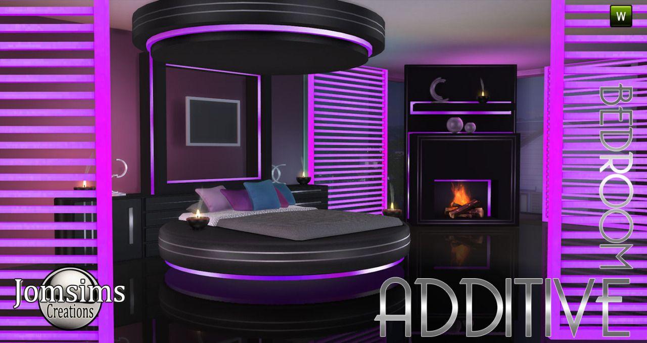 voici additive chambre sims 4 un lit