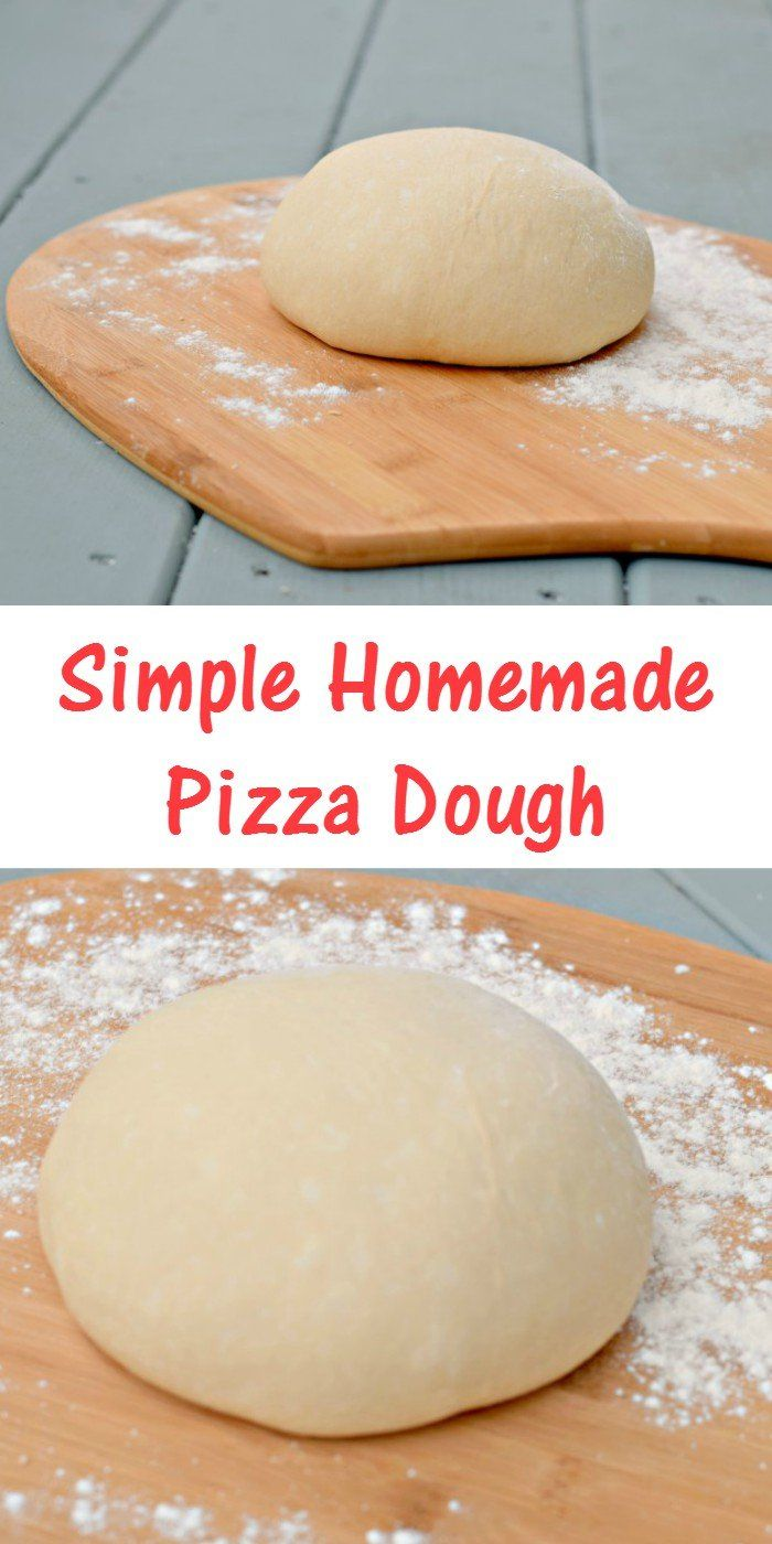 Homemade Pizza Dough - Simple Recipe for Pizza Night