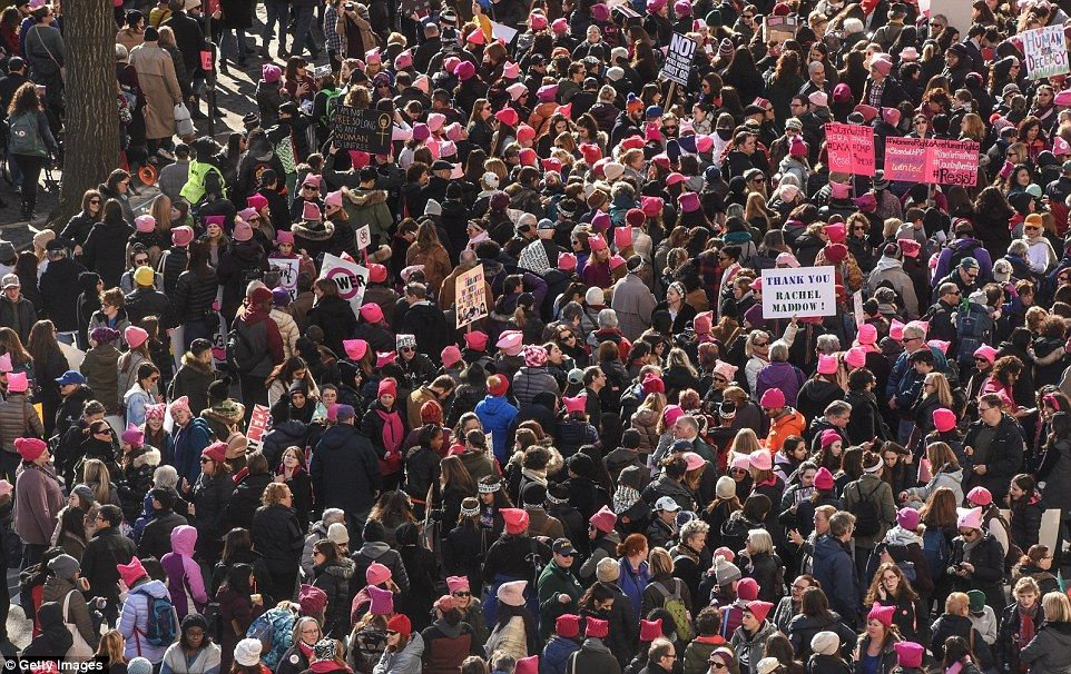 Women S March On First Anniversary Of Trump S Inauguration Womens March Women Running Women