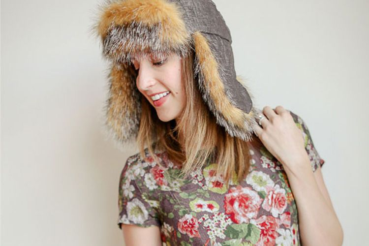 Ear Flap Hat DIY - with free Sewing Pattern | Flap hat, Free pattern ...