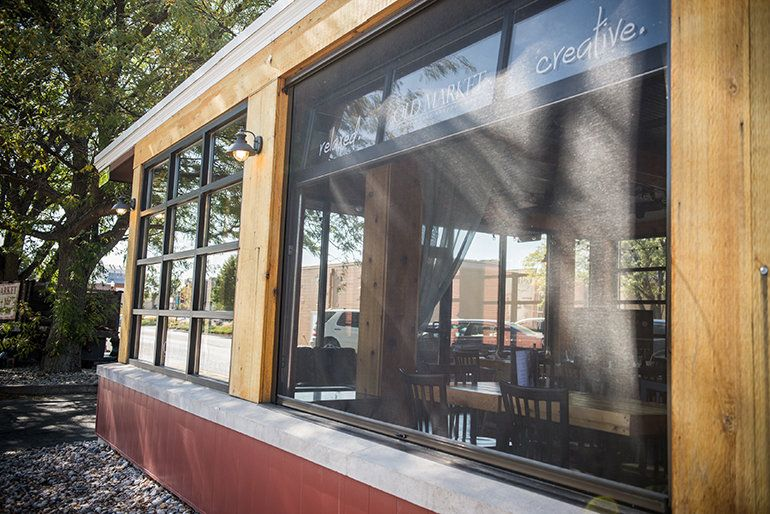 What a fabulous idea Glass garage doors on a sunroom
