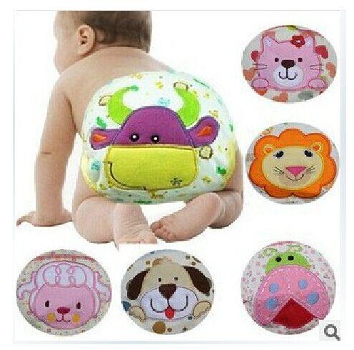 Pannolini per bambini slip in puro cotone del fumetto animali stampa pantaloni di formazione infantile cute baby biancheria intima impermeabile Y95