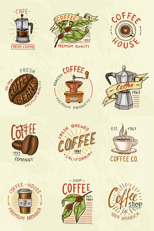 100 Coffee Logo Design Ideas In 2020 Coffee Logo Logo Design Rustic Logo Design