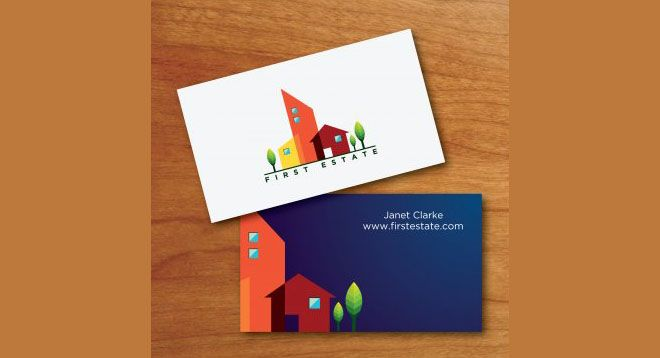 40 creative real estate and construction business cards designs 40 creative real estate and construction business cards designs reheart Image collections