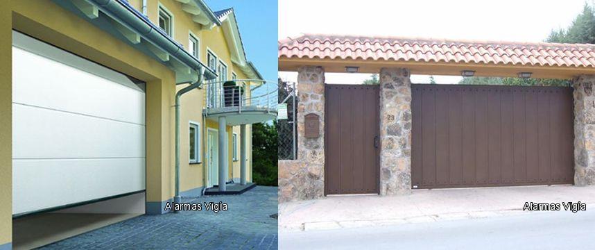 Portones automaticos para garage y cochera ropa - Puertas automaticas para cocheras ...