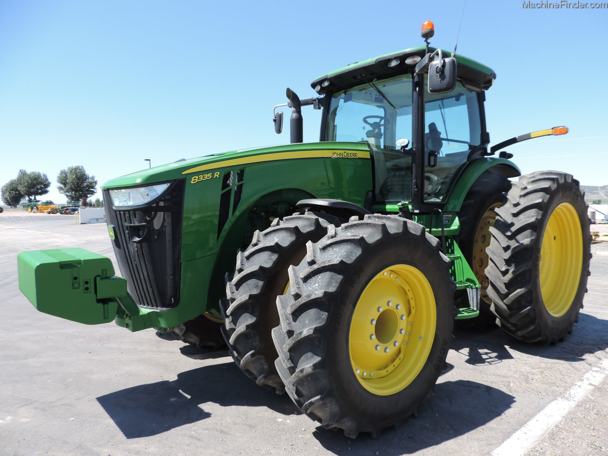 Front Duals For Tractors : John deere r us hours june