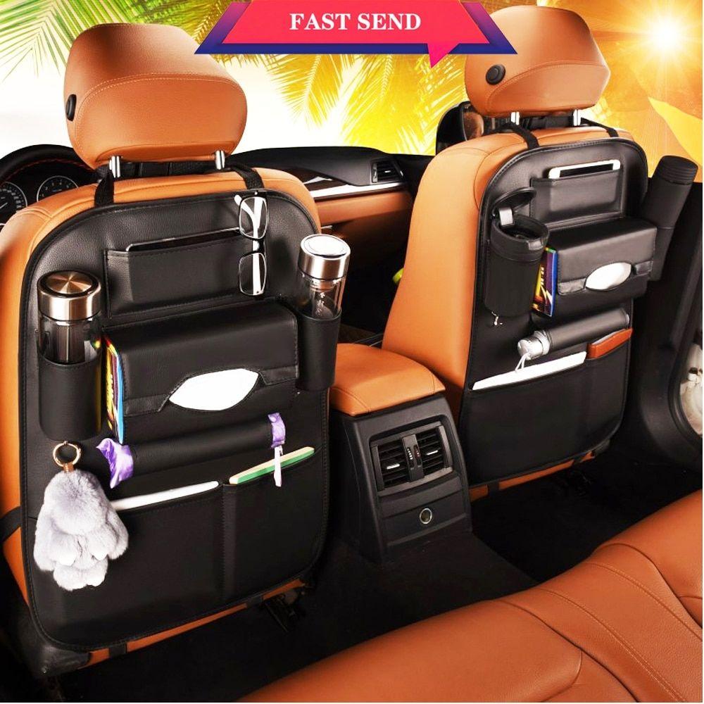 Car Organizer Back Seat With Tissue Holder🔥👨 ️ Price 10