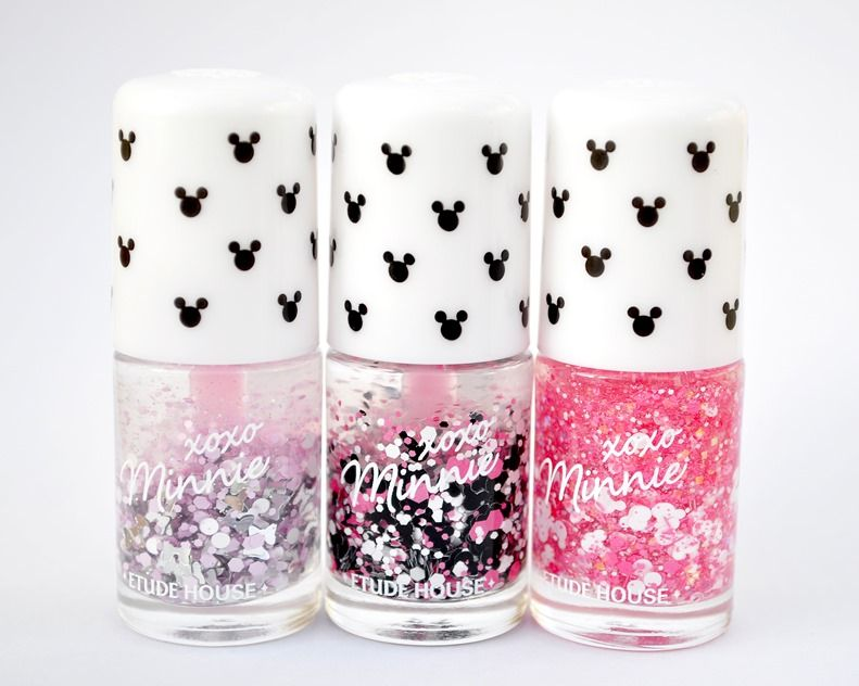 minnie mouse nail polish etude house | nail art | Pinterest | Etude ...