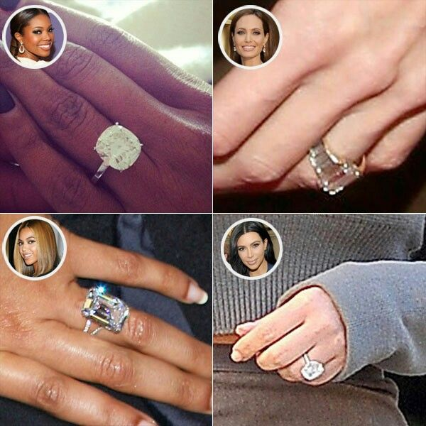 Pin By Melissa Ruswick On Lotto Home Huge Wedding Rings Beyonce Engagement Ring Celebrity Engagement Rings