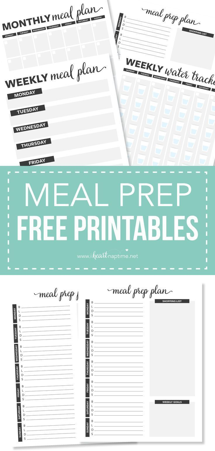 25+ Meal Prep Ideas #weeklymealprep