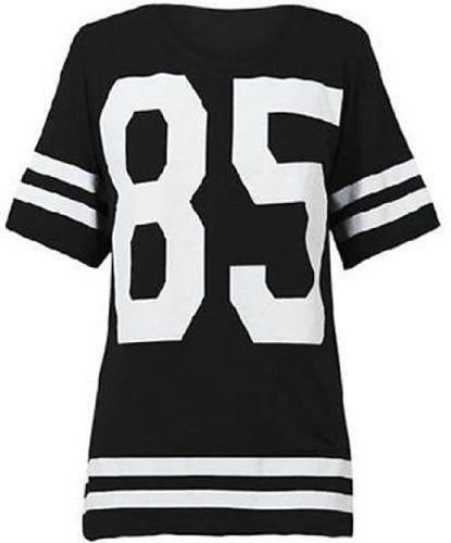 Cima Mode Women's Oversized 85 Football Jersey T-Shirt 6/8 Black Cima Mode http://www.amazon.com/dp/B00K1JU2EO/ref=cm_sw_r_pi_dp_K7Xdub1TP9A6X