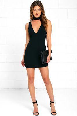 8696e37e7 Vestidos negros de fiesta