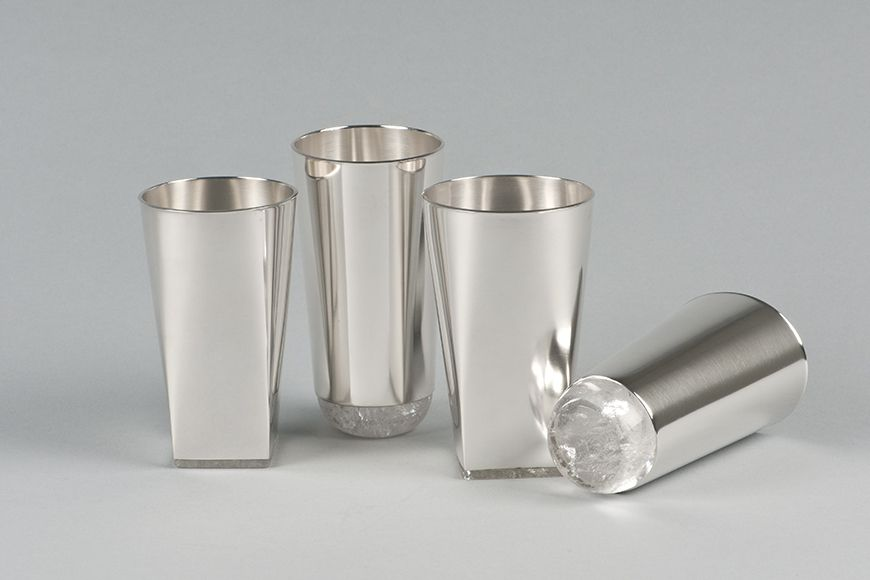 Ulla And Martin Kaufmann Glass Bottoms Silver Furniture Silver Pooja Items Silver Jewellery Indian