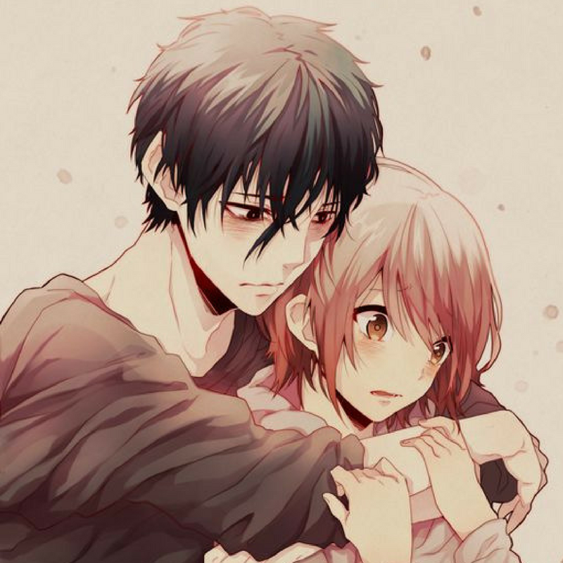 devil's line anime anzai and tsukasa cute anime couple