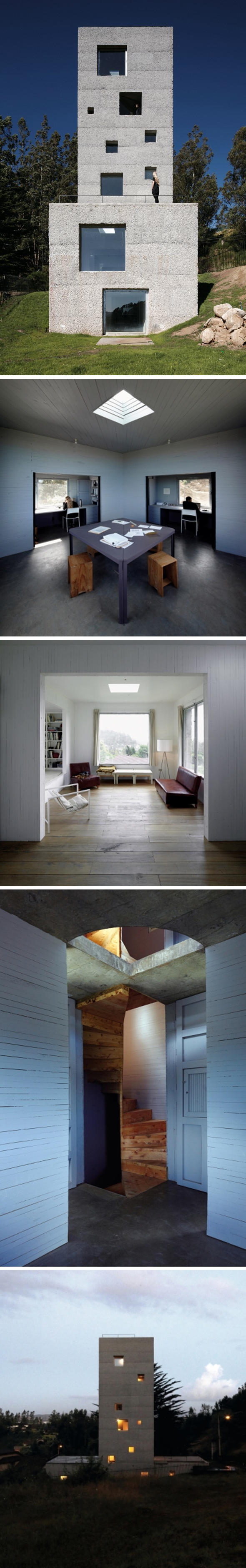 Cien House Par Mauricio Pezo And Sof A Von Ellrichshausen Pezo  # Muebles Tomas Irribarra