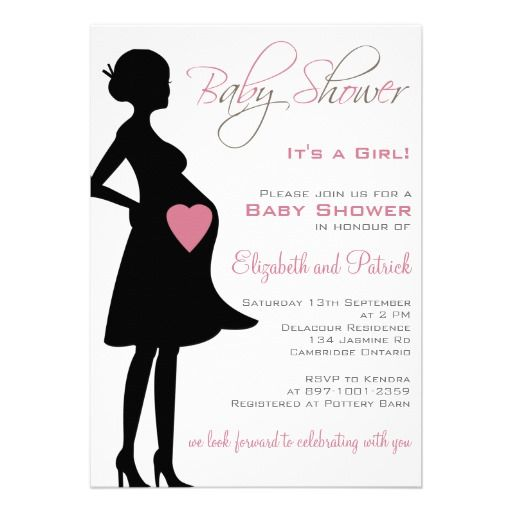 Pregnant silhouette purple baby shower invitation baby shower pregnant silhouette purple baby shower invitation filmwisefo Images