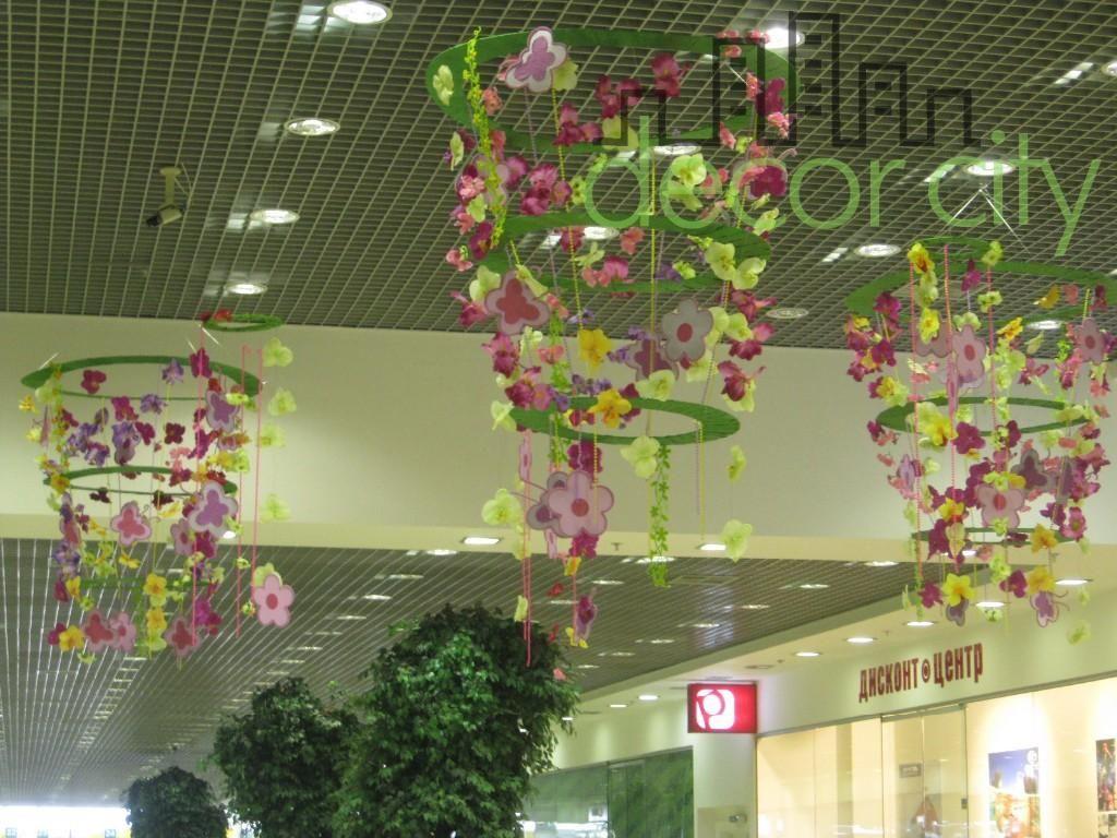 Оформления садика цветами