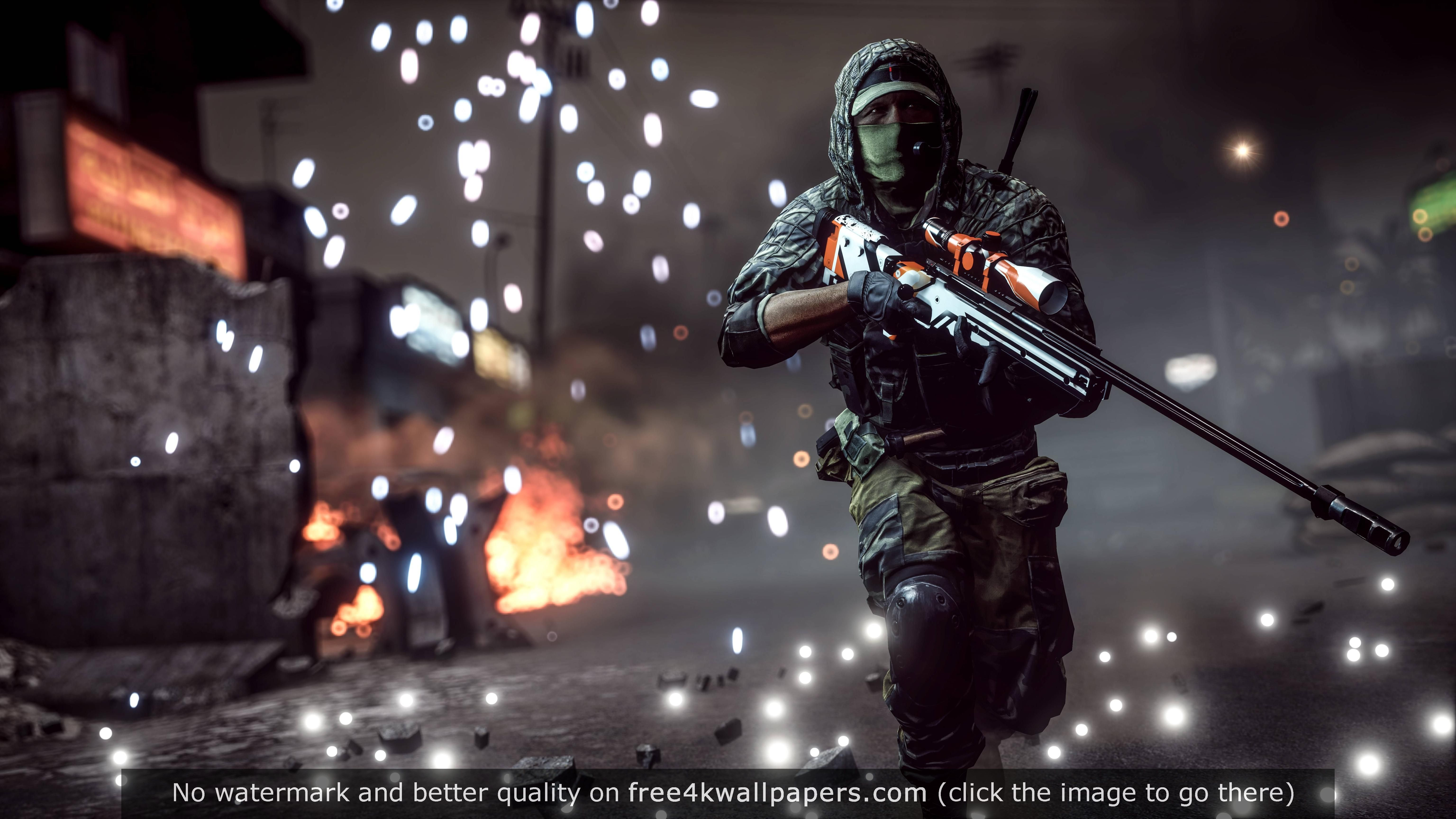 Battlefield Sniper 4k Wallpaper Desktop Wallpapers Wallpaper