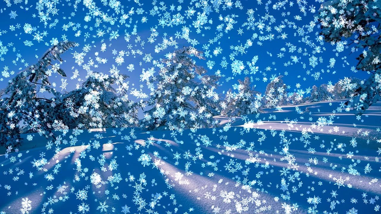 Free download 3d live wallpaper live wallpaper pinterest a beautiful snow scene with falling snow on your desktop blue sky trees covered with snow animated falling toneelgroepblik Choice Image
