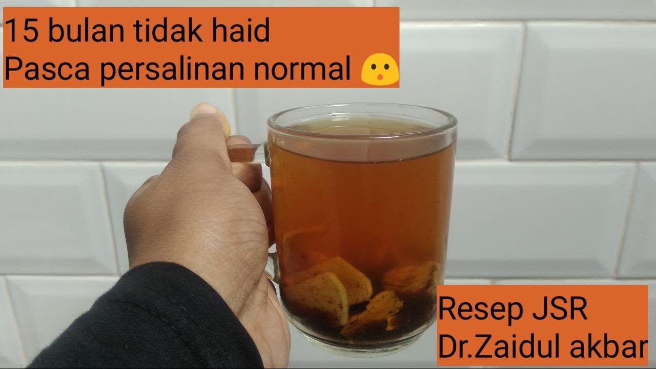 Resep Jsr Dr Zaidul Akbar Minuman Untuk Memperlancar Haid Dengan Bahan Alami Youtube Di 2021 Bahan Alami Resep Minuman