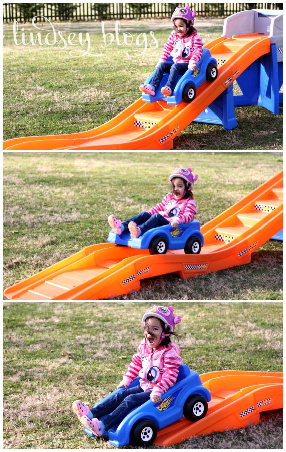 Kids Roller Coaster - best toy in our back yard hands down ...
