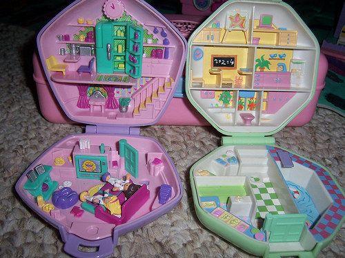 Polly Pocket Noel 44 jouets que tous les enfants des années 1990 voulaient pour Noël
