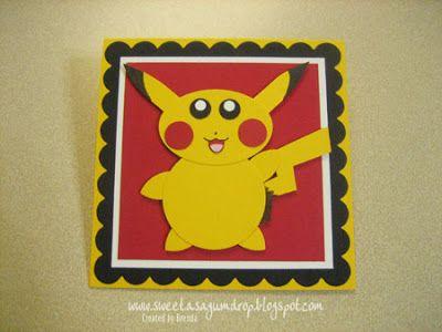 sweet as a gumdrop...: Pikachu Punch Art...