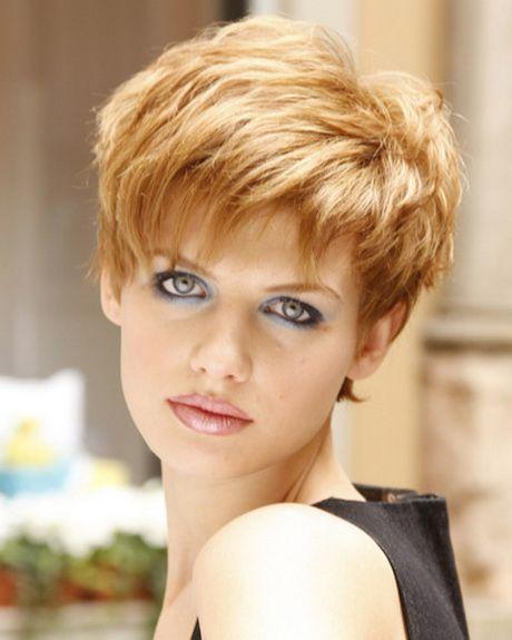 Modische Kurzhaarfrisuren Damen Bilder Frisur
