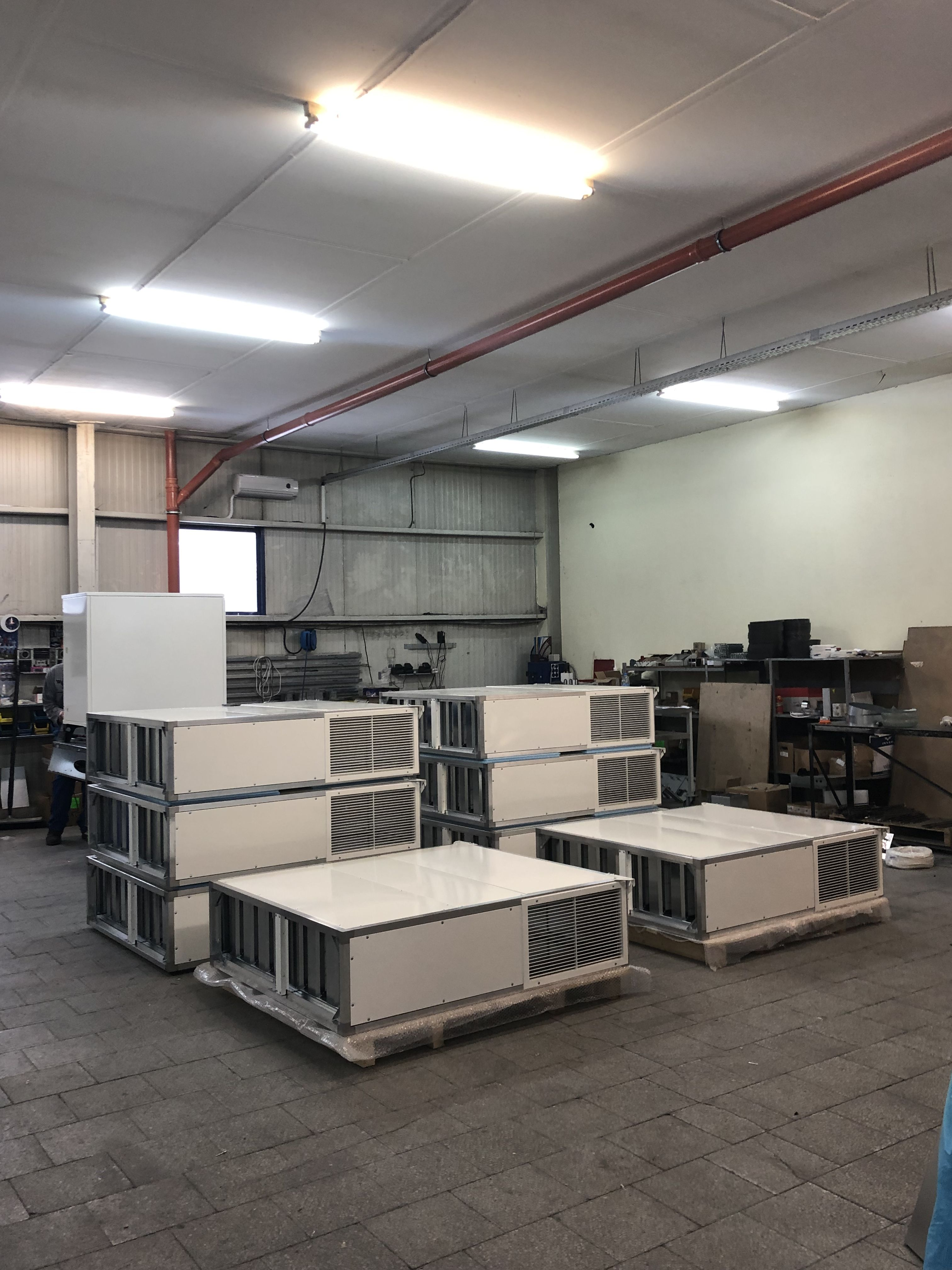 Heat recovery units TANGRA for school ventilation in Czech