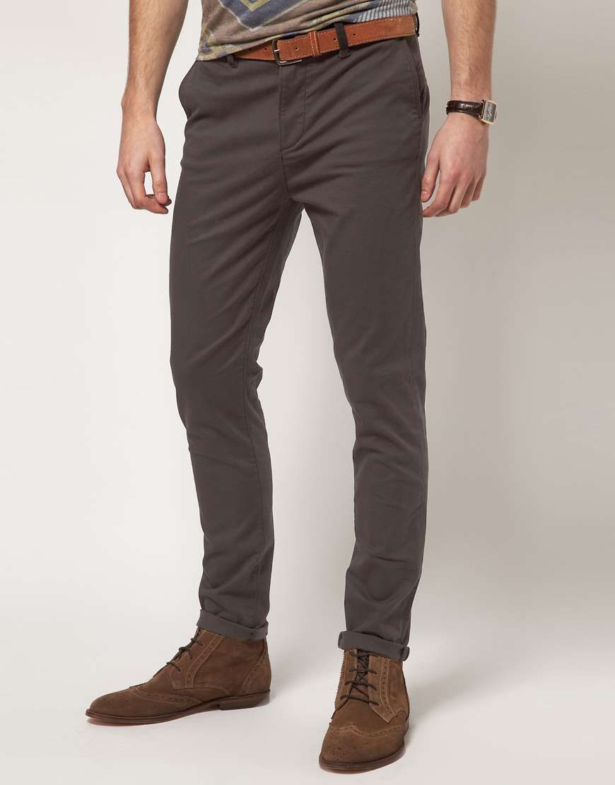 ASOS | Skinny Chino #asos #chino #pants | Men's Fashion: Clothes I ...