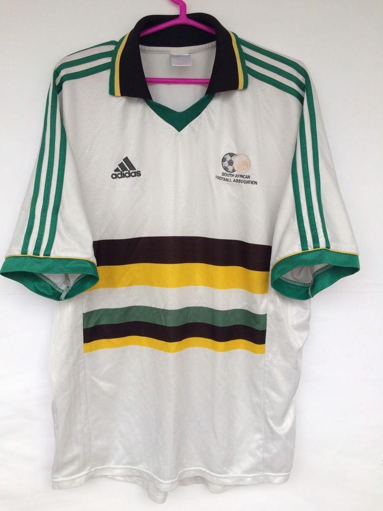 SOUTH AFRICA 1998 1999 2000 ADIDAS AWAY FOOTBALL SOCCER SHIRT JERSEY  CAMISETA (eBay Link) ae350a5e8