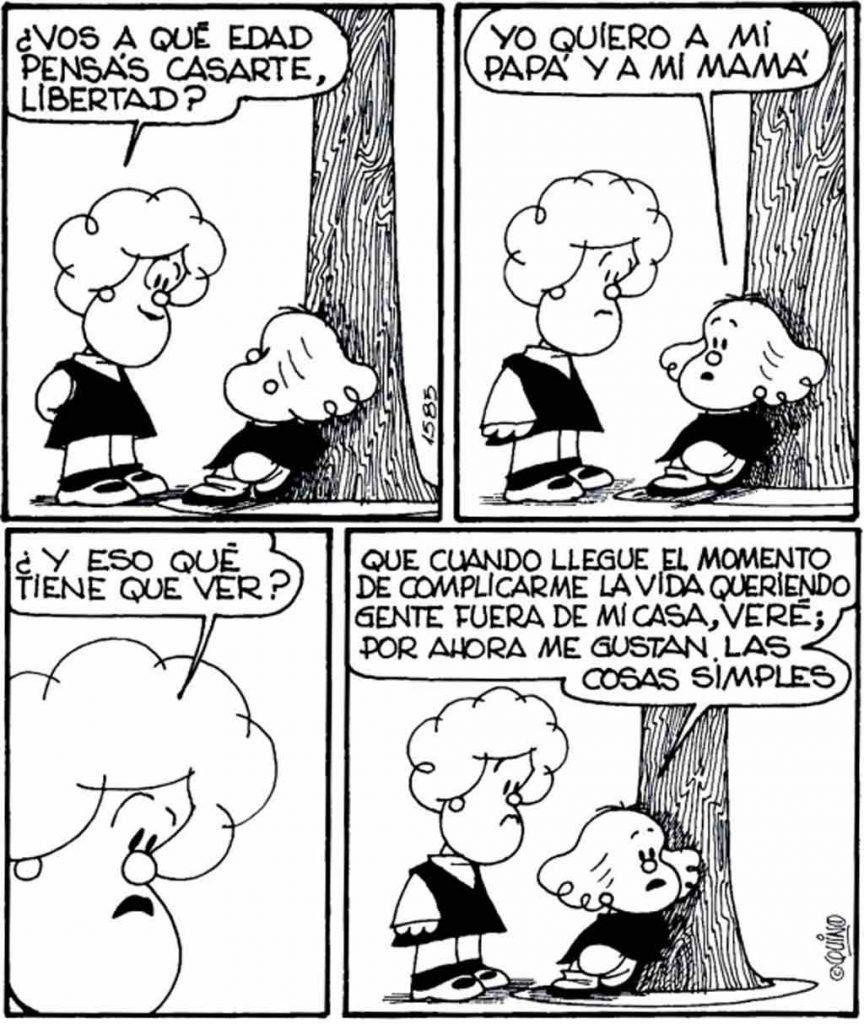 Resultado de imagen para mafalda edad casarte