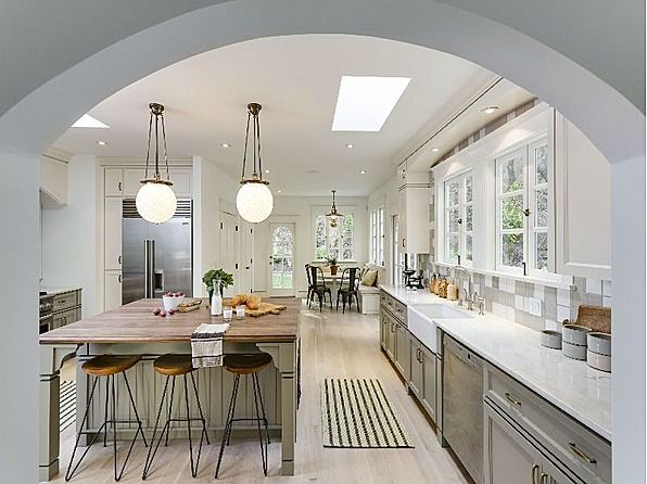 Great Above: This Custom Eat In Kitchen By Simo Design Is One Of My Favorite.  Itu0027s Expanded And Tricked Out. It Features 2 Pantries, A Laundry Roo.