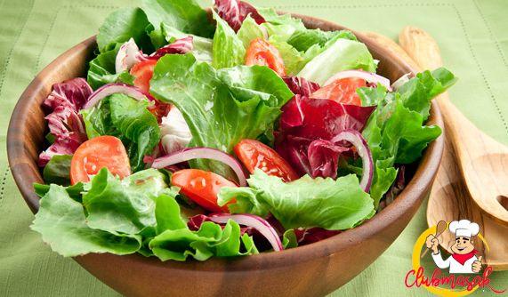 Resep Hidangan Sayuran Green Salad Salad Untuk Diet Club Masak Diet Makanan Sehat Salad