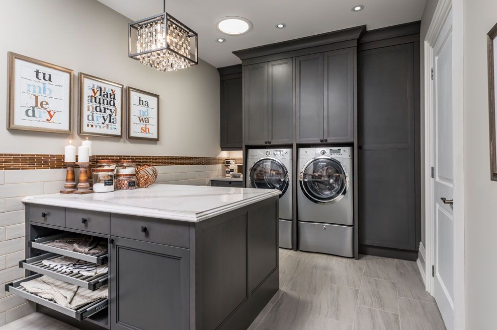 18 Laundry Room Ideas That Are Beyond Stylish (And Super Functional) images