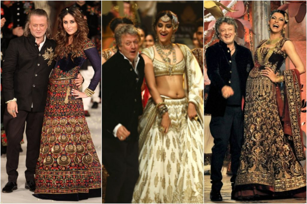 The Time Journal Has Regarded Rohit Bal As The Master Of Fabric And Fantasy Designer He Made His First Name As A Cu Top Design Fashion Fashion Fashion Design