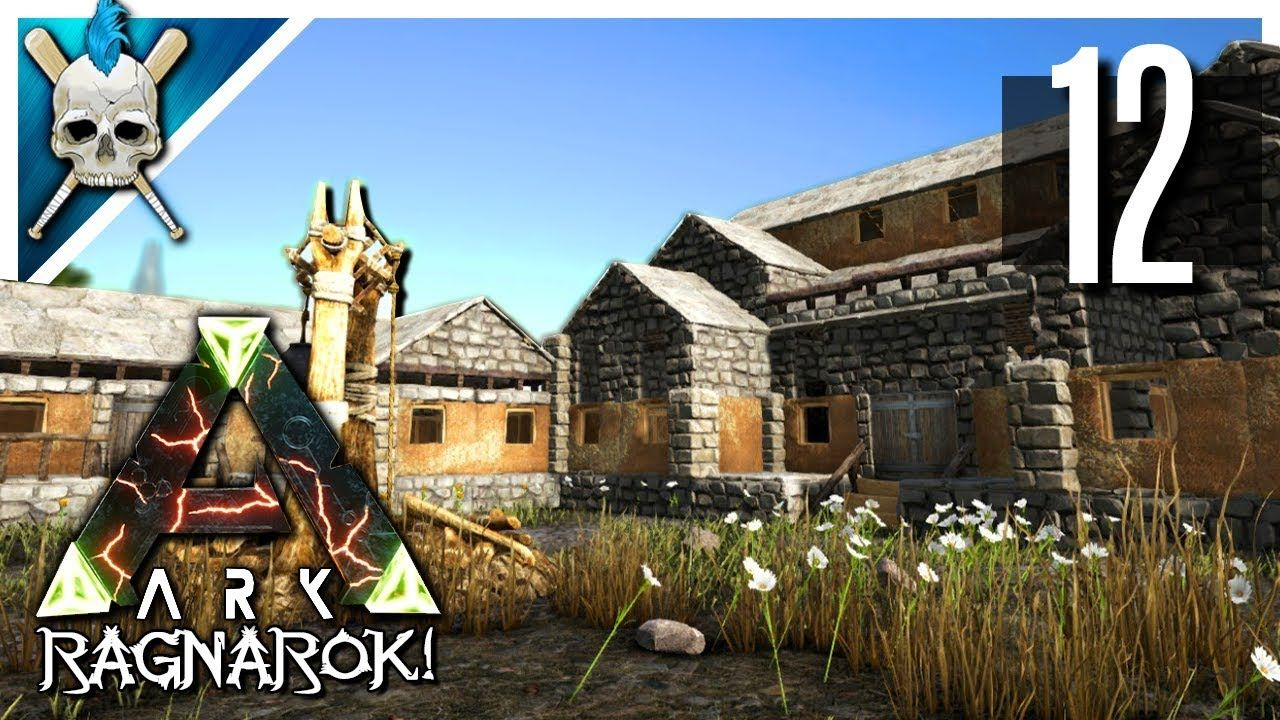 ARK: Ragnarok - NEW Base Build & Workshop Design! - ARK Iron