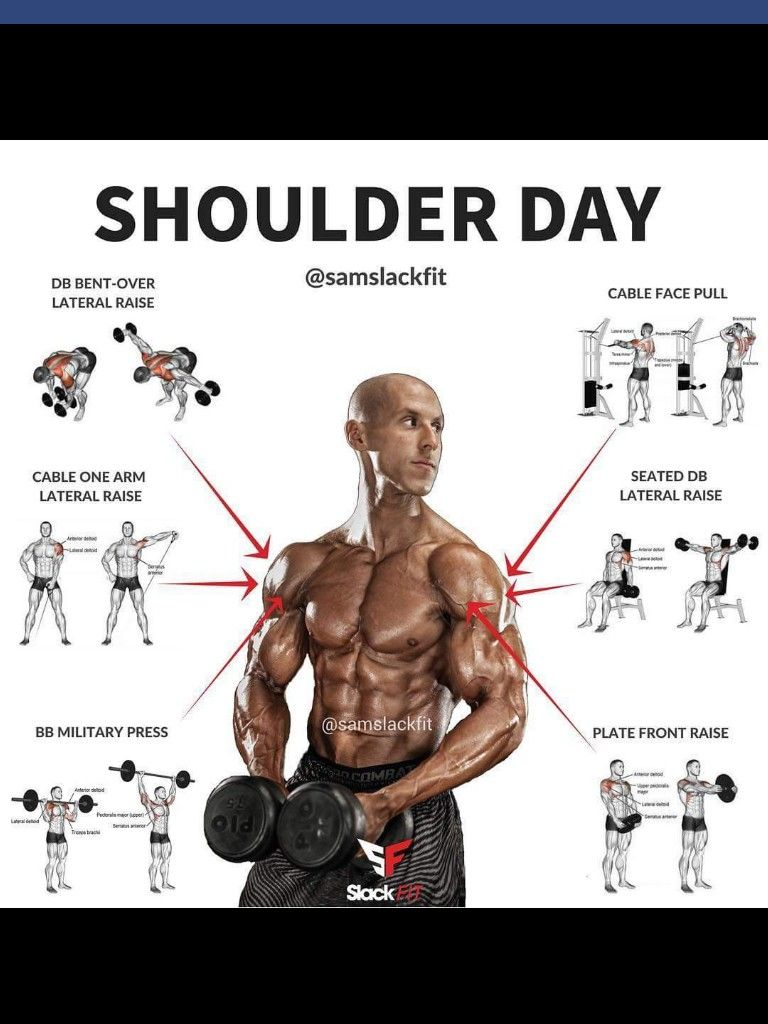 Shoulder Workout Posted By Customweightlossprogram Com Exercise