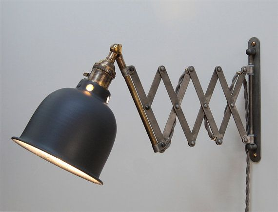 Scissor Lamp Articulating Adjustable Brass Swing By Photonicstudio